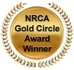 The Slate Roof Bible, 1st Edition, is an NRCA Gold Circle Award Winner.