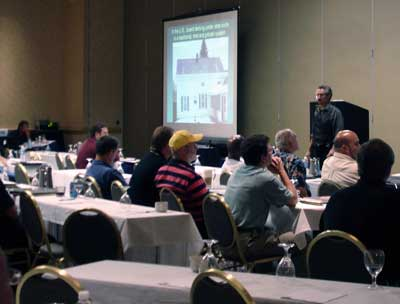 Joseph Jenkins speaking at the American Society of Home Inspectors Conference, 2006