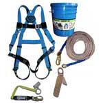 Fall protection for roofers, sold at the Slate Roof Warehouse.